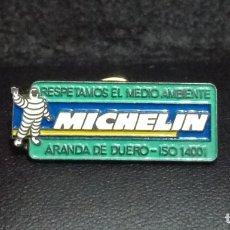 Pins de colección: PIN *RESPETANDO EL MEDIO AMBIENTE - MICHELIN* - BUEN ESTADO.. Lote 180148953