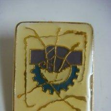 Pins de colección: PINS DE VII CONGRESO-METAL UGT DE VALLADOLID. Lote 180267055