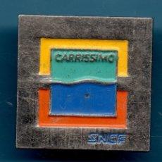 Pins de colección: VESIV PIN SNCF CARRISSIMO. Lote 180431796