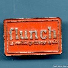 Pins de colección: VESIV PIN FLUNCH. Lote 180431811