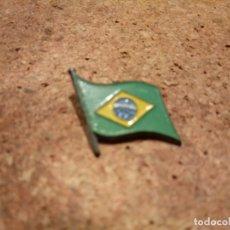 Pins de colección: PIN DE LA BANDERA DE BRASIL. Lote 181484652