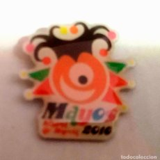 Pins de colección: PIN FIESTAS DE LOS MAYOS DE ALHAMA DE MURCIA (MURCIA) - AÑO 2016. Lote 181714128