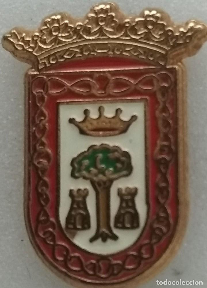 PIN ESCUDO HERALDICO MUNICIPAL AYUNTAMIENTO DE OLITE-ERIBARRI (NA) (Coleccionismo - Pins)