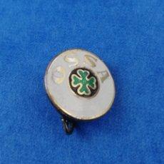 Pins de colección: ANTIGUO PIN AGUJA INSIGNIA MOTOCICLETAS OSSA MOTOS MOTOCICLISMO. Lote 182879115