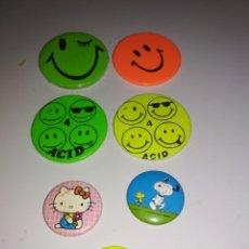 Pins de colección: LOTE 7 PINS VARIOS. Lote 182893140