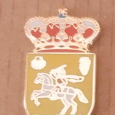 Pins de colección: PIN ESCUDO HERÁLDICO ALESANCO - LA RIOJA. Lote 183096630
