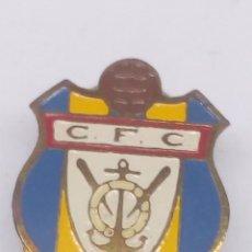 Pins de colección: PIN DE FUTBOL ESMALTADO CF CIMADEVILLA. Lote 183423766
