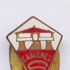Pins de colección: PIN DE FUTBOL ESMALTADO CABUNES CF. Lote 183461278