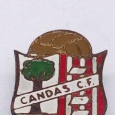 Pins de colección: PIN DE FUTBOL ESMALTADO CANDAS CF. Lote 183463420