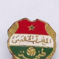Pins de colección: PIN DE FUTBOL ESMALTADO MARRUECOS. Lote 183463800