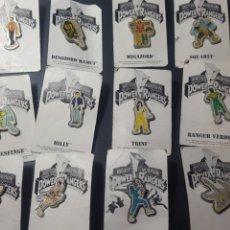 Pins de colección: 12 PIN POWER RANGERS. 1995. EN SU CARTÓN ORIGINAL. TM & C. Lote 183515041