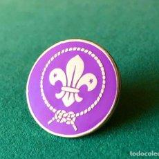 Pins de colección: PIN ESCUDO SCOUT MUNDIAL. Lote 183680282