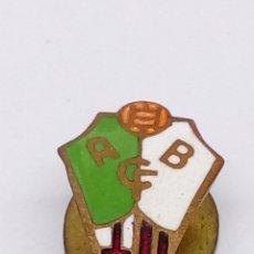 Pins de colección: PIN DE FUTBOL ESMALTADO ALBACETE CF. Lote 183930086