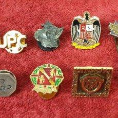 Pins de colección: COLECCIÓN DE 11 PINS. VARIAS TEMÁTICAS. METAL DORADO Y PLATEADO. SIGLO XX. . Lote 186282532
