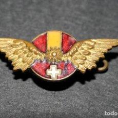 Pins de colección: MUY ANTIGUA INSIGNIA ESMALTADA COCHE HISPANO SUIZA. Lote 186433133