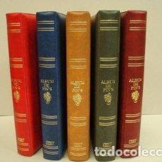 Pins de colección: ALBUM PARA PINS STANDARD. 4 ANILLAS. GAMA DE COLORES.. Lote 186605541