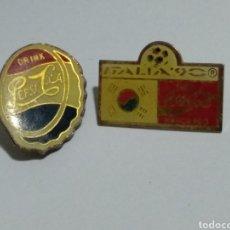 Pins de colección: LOTE ANTIGUOS PINS FALTA CLIC DE ATRAS. Lote 188513873