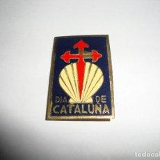 Pins de colección: ANTIGUA INSIGNIA PIN AGUJA DIA DE CATALUÑA. Lote 188769675