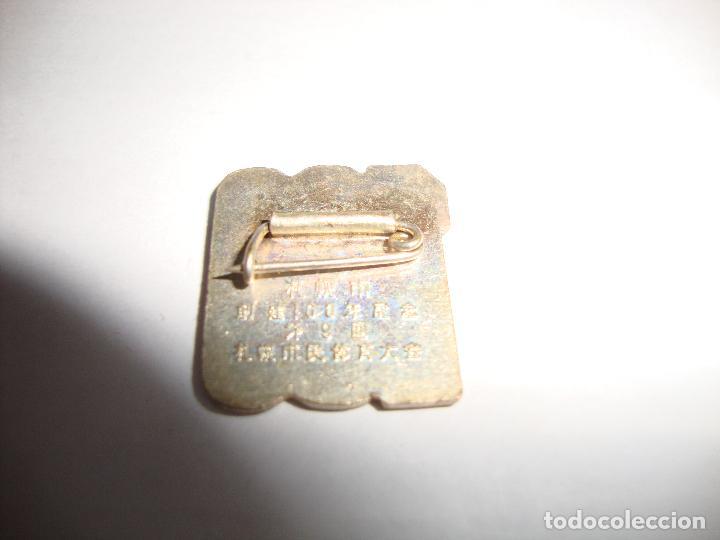 Pins de colección: ANTIGUA INSIGNIA PIN AGUJA CHINA 100 AÑOS 1968 - Foto 2 - 188774777