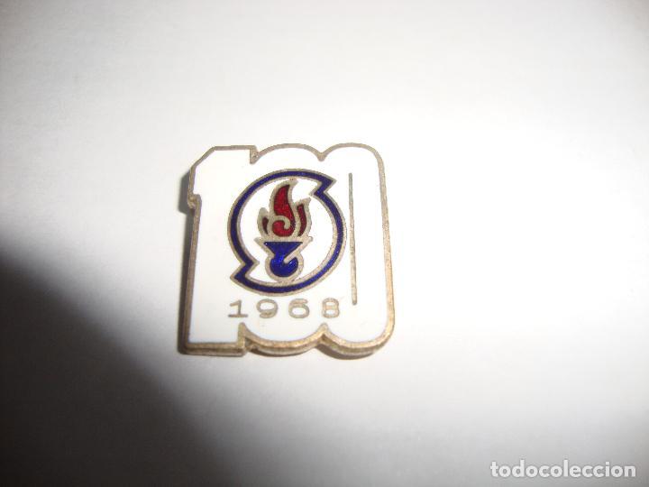 ANTIGUA INSIGNIA PIN AGUJA CHINA 100 AÑOS 1968 (Coleccionismo - Pins)