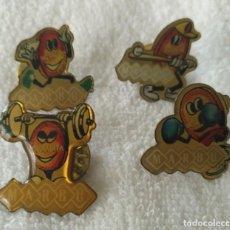 Pins de colección: P 51 LOTE 4 PIN / PIN'S GALLETAS MARBÚ - DEPORTES. Lote 189429610