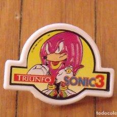 Pins de colección: PIN SONIC 3 TRIUNFO. BUEN ESTADO. 3,5X2,6 CM.. Lote 176497594