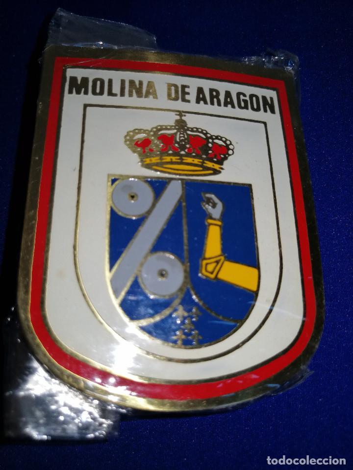 Pins de colección: ESCUDO MOLINA DE ARAGON-EN SU BOLSA ORIGINAL SIN ABRIR - Foto 2 - 190162310