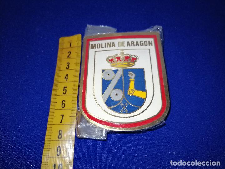 Pins de colección: ESCUDO MOLINA DE ARAGON-EN SU BOLSA ORIGINAL SIN ABRIR - Foto 4 - 190162310