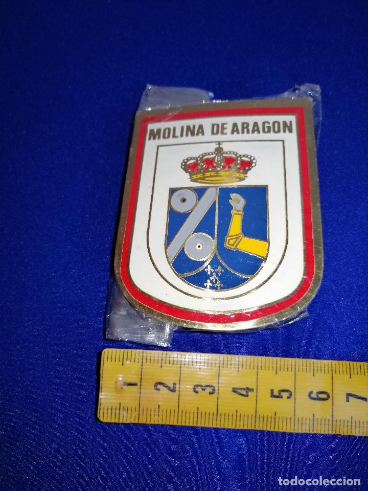 Pins de colección: ESCUDO MOLINA DE ARAGON-EN SU BOLSA ORIGINAL SIN ABRIR - Foto 5 - 190162310