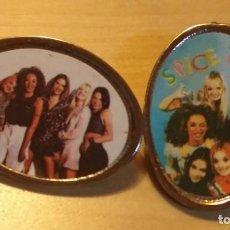 Pins de colección: P 95 LOTE 2 PIN / PIN'S FOTOGRAFÍAS SPICE GIRLS. Lote 190162355