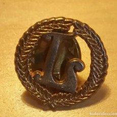 Pins de colección: P 102 PIN LETRA L DEL LICEO DE BARCELONA. Lote 190371462