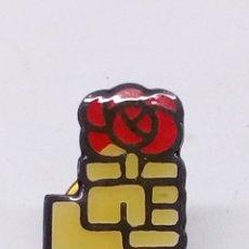 Pins de colección: PIN ESMALTADO PSOE. Lote 190801273
