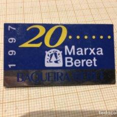 Pins de colección: PIN BAQUEIRA BERET 1997. Lote 191529045
