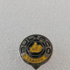 Pin's de collection: BULTACO CEMOTO MOTOS MOTOCICLETAS ANTIGUA INSIGNIA PIN DE OJAL SOLAPA. Lote 191960638