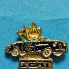 Pin's de collection: PIN COBI SEAT BARCELONA 92 . Lote 192511831