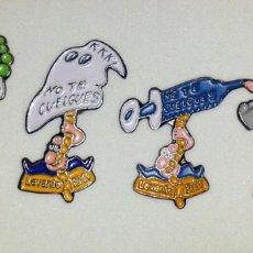 Pins de colección: NO TE CUELGUES. ORTIFUS. LEVANTE EMV X4. Lote 192633731