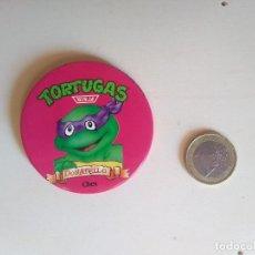 Pins de colección: CHAPA TORTUGAS NINJA - DONATELLO - CHEX MIRAGE STUDIOS LICENSED BY L&C - 1990. Lote 192797050