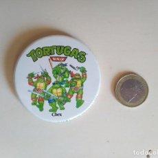 Pins de colección: CHAPA TORTUGAS NINJA - CHEX MIRAGE STUDIOS LICENSED BY L&C - 1990. Lote 192797157