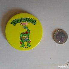 Pins de colección: CHAPA TORTUGAS NINJA - RAPHAEL - CHEX MIRAGE STUDIOS LICENSED BY L&C - 1990. Lote 192797803