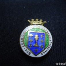 Pins de colección: JOYERIA MALDE PIN DE SOLAPA DE SOCIEDAD GALLEGA DE PATOLOGÍA DIGESTIVA CON EL ESCUDO DE GALICIA . Lote 192910656