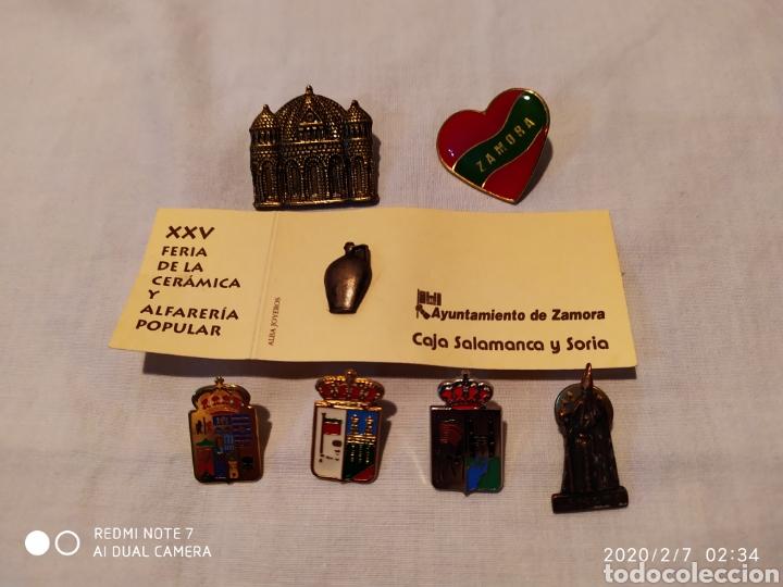 Pins de colección: PRECIOSO Y ÚNICO LOTE DE PINS DE LA CIUDAD DE ZAMORA, VER - Foto 2 - 193197030