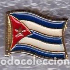 Pins de colección: PIN PABELLÓN DE CUBA EXPO 92. Lote 193435443