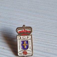 Pins de colección: PIN O.C.F REAL OVIEDO. Lote 193670247