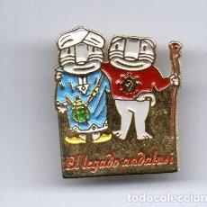 Pins de colección: PIN EL LEGADO ANDALUSI - CECILIO GRANADA ESQUI. Lote 194211490