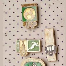 Pins de colección: PINS OLIMPIADA DE MOSCÚ 1980. Lote 194256006