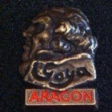 Pins de colección: PRECIOSO PIN DE GOYA (ARAGON). Lote 194264685