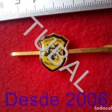 Pins de colección: TUBAL M22 EMPRESA DE SEGURIDAD SEVILLA ALFILER CLIP DE CORBATA ANTIGUO 80 GRS. Lote 194264696