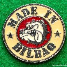 Pins de colección: PIN ATHLETIC MADE IN BILBAO. Lote 194298180