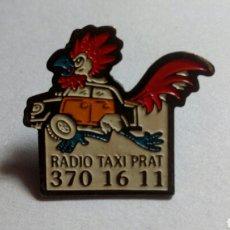 Pins de colección: PIN RADIO TAXI PRAT. Lote 194401875