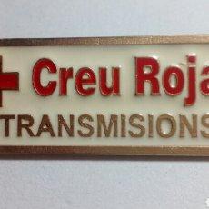 Pins de colección: GRAN PIN CREU ROJA. Lote 194402922